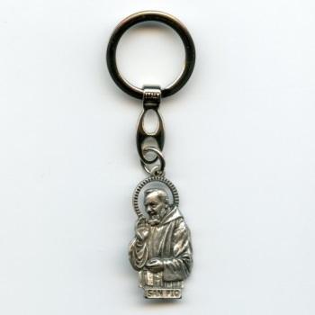 Schlüsselanhänger Pater PIO Keychain Padre San Pio x