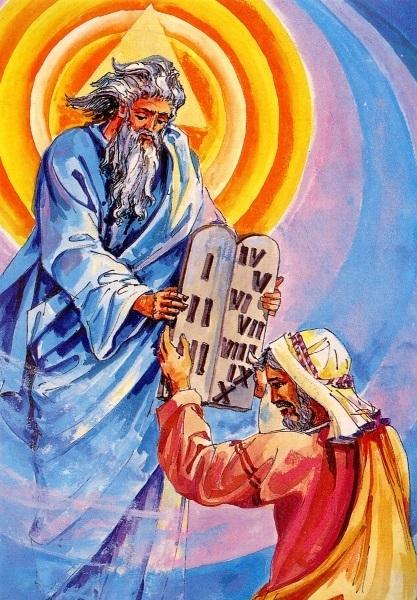 Mose Und Die 10 Gebote